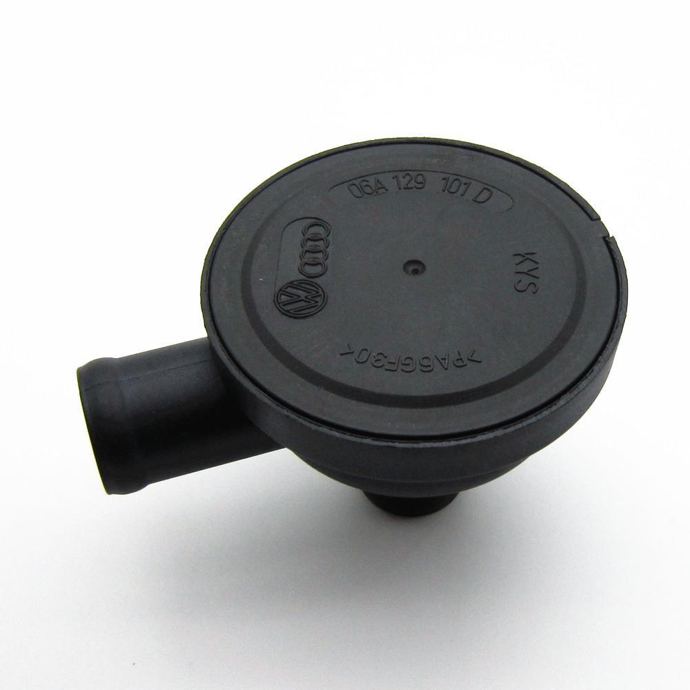 OEM Livraison Gratuite Carénage Reniflard Vent Purge Valve Soupape à une voie Pour VW Jetta Golf Passat A4Passat 06A129101D