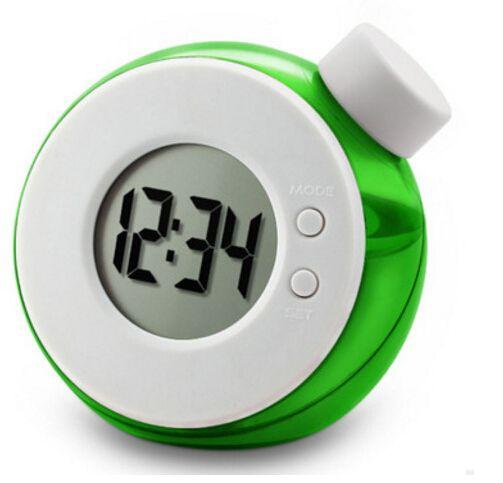 Reloj digital ecológico de energía accionado por agua