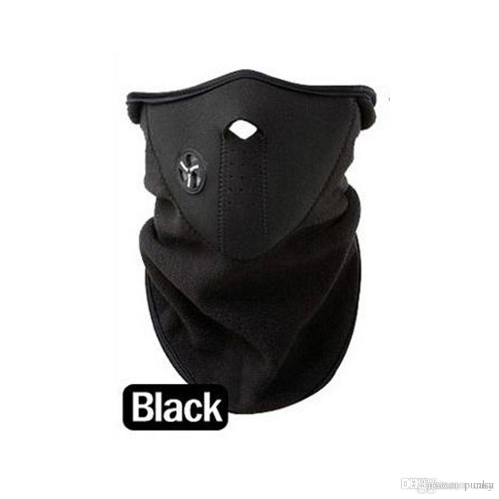 Neoprene Neck Half Face Mask Cover Ride Bike Hat CS Mask Winter Veil ... 221e65be34