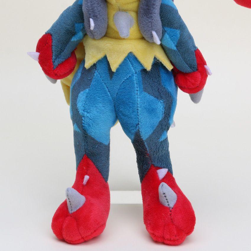 Japanese Anime Cartoon center Lucario plush stuffed Doll toy Plush Toy good kids toy approx 25cm
