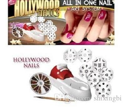 Promotion Hollywood Nails All In One Nail Art System Professional