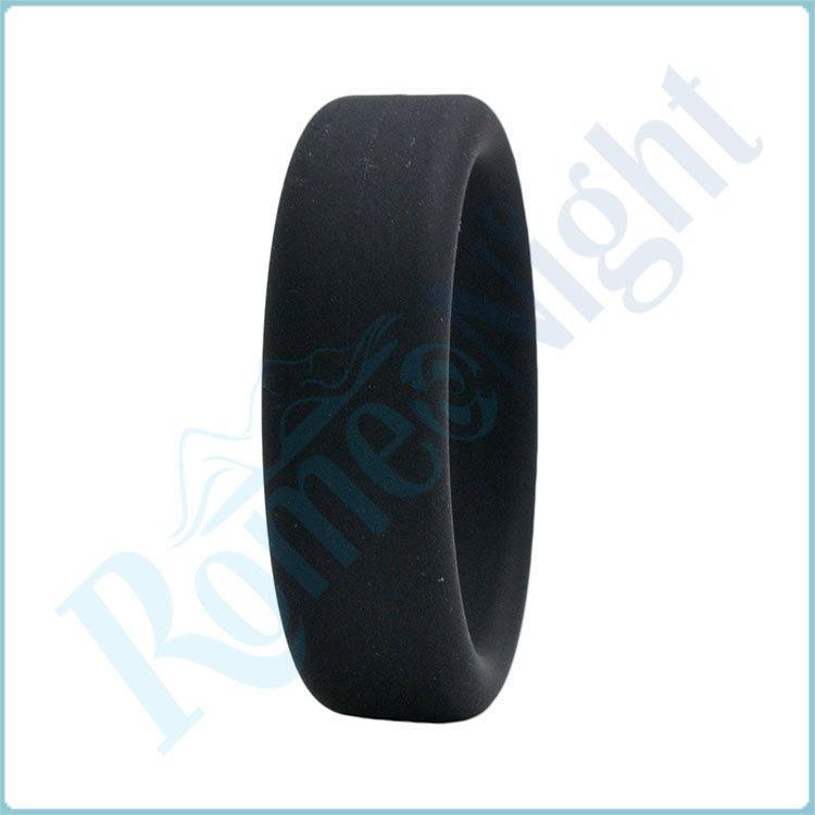 RomeoNight 100% силикона гладкой ощупь время задержки пениса кольца эрекционные кольца, Мужской секс игрушки для взрослых продукты q1106