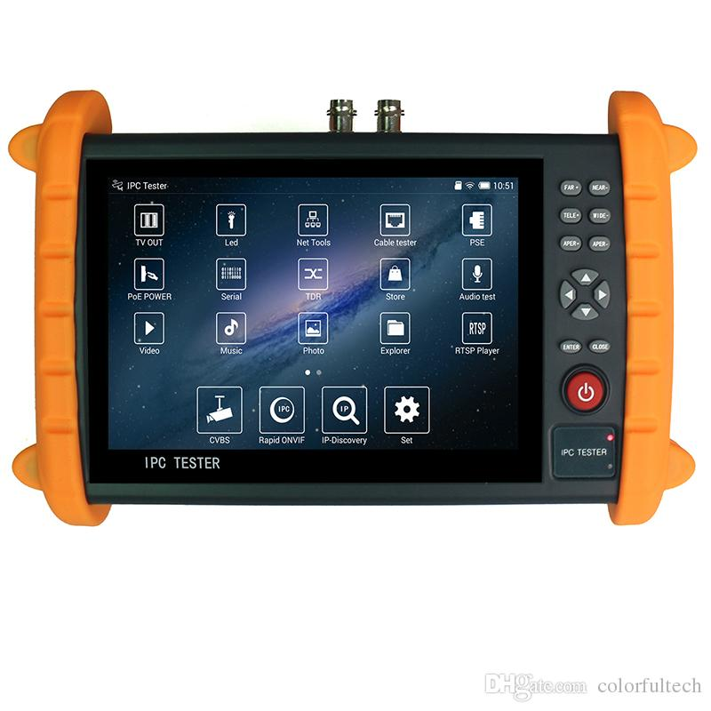 92476538c2a 7 Inch 5-in-1 Touchscreen POE WIFI CCTV Tester 1080P HDMI ...