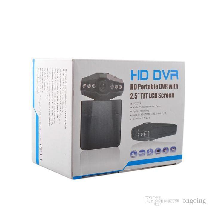 .Hot sales Top selling 2.5'' Car Dash cams Car DVR recorder camera system black box H198 night version Video Recorder dash Camera