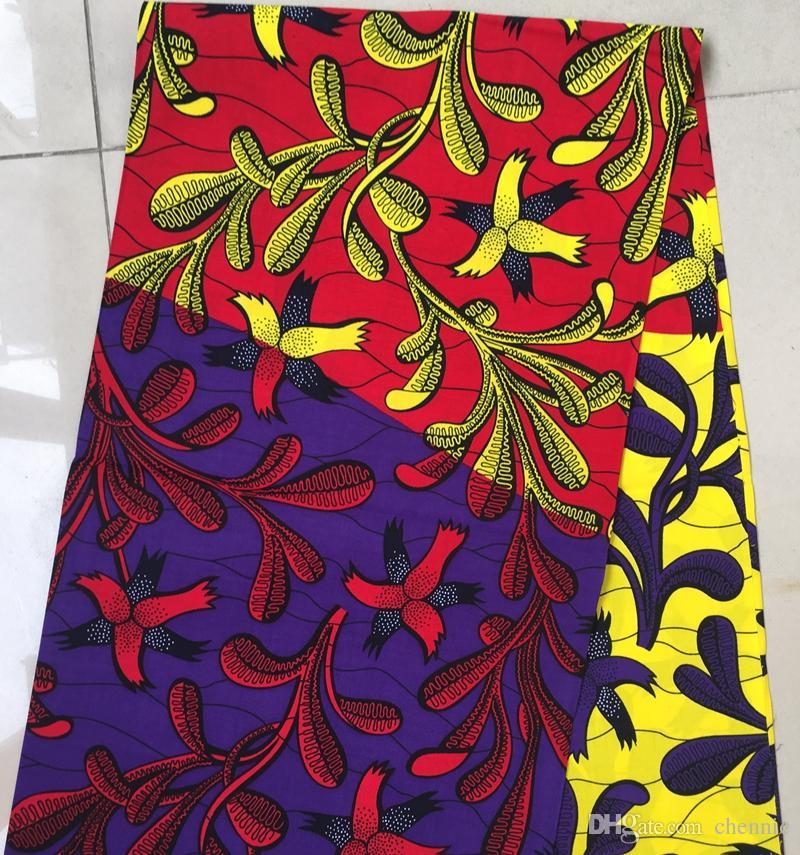 Großhandel Multicolors Blume Afrikanischen Ankara Stil 100 ...