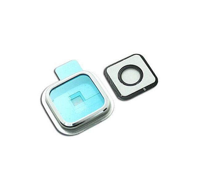 100% nuevo OEM de alta calidad marco de la cámara de vidrio cubierta de la lente piezas de repuesto para Samsung Galaxy S4 S5 S6 EDGE i9600 G900 NOTA 3 4 5