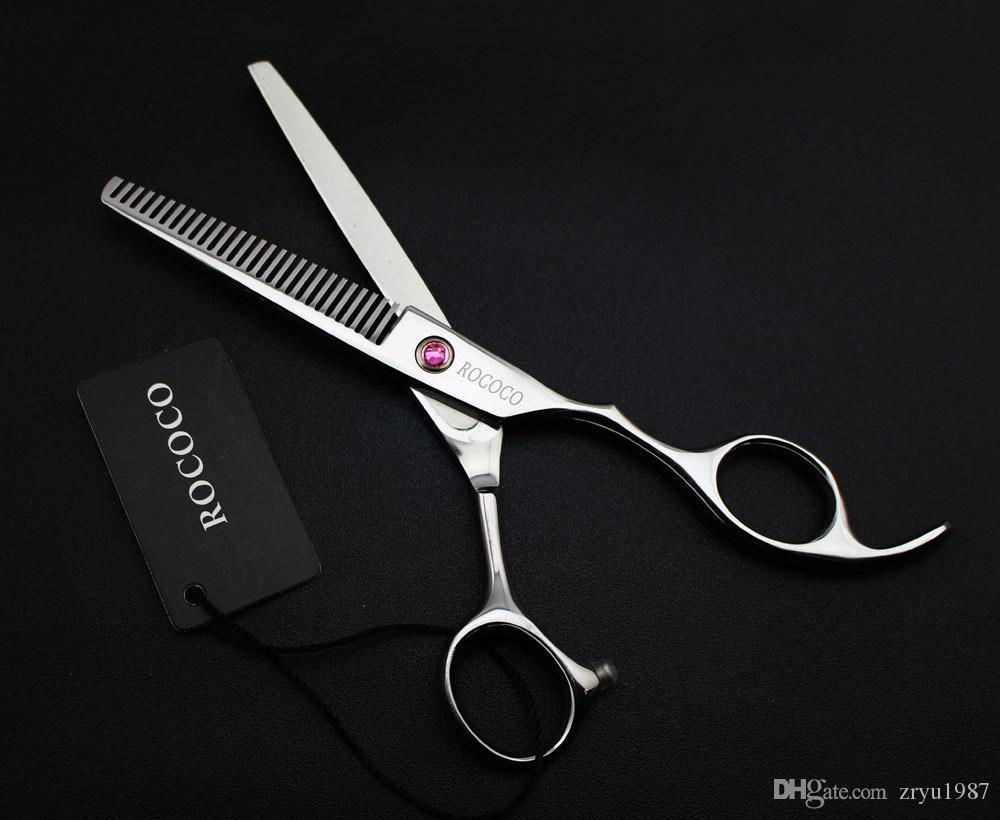 """6"""" sale japan hair scissors teflon shears hairdressing scissors barber thinning scissors hairdresser"""