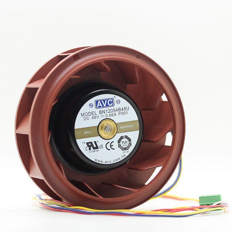 Neue Original BN12054B48U P001 48 V 0,66 A 4 linien zentrifugalgebläse lüfter