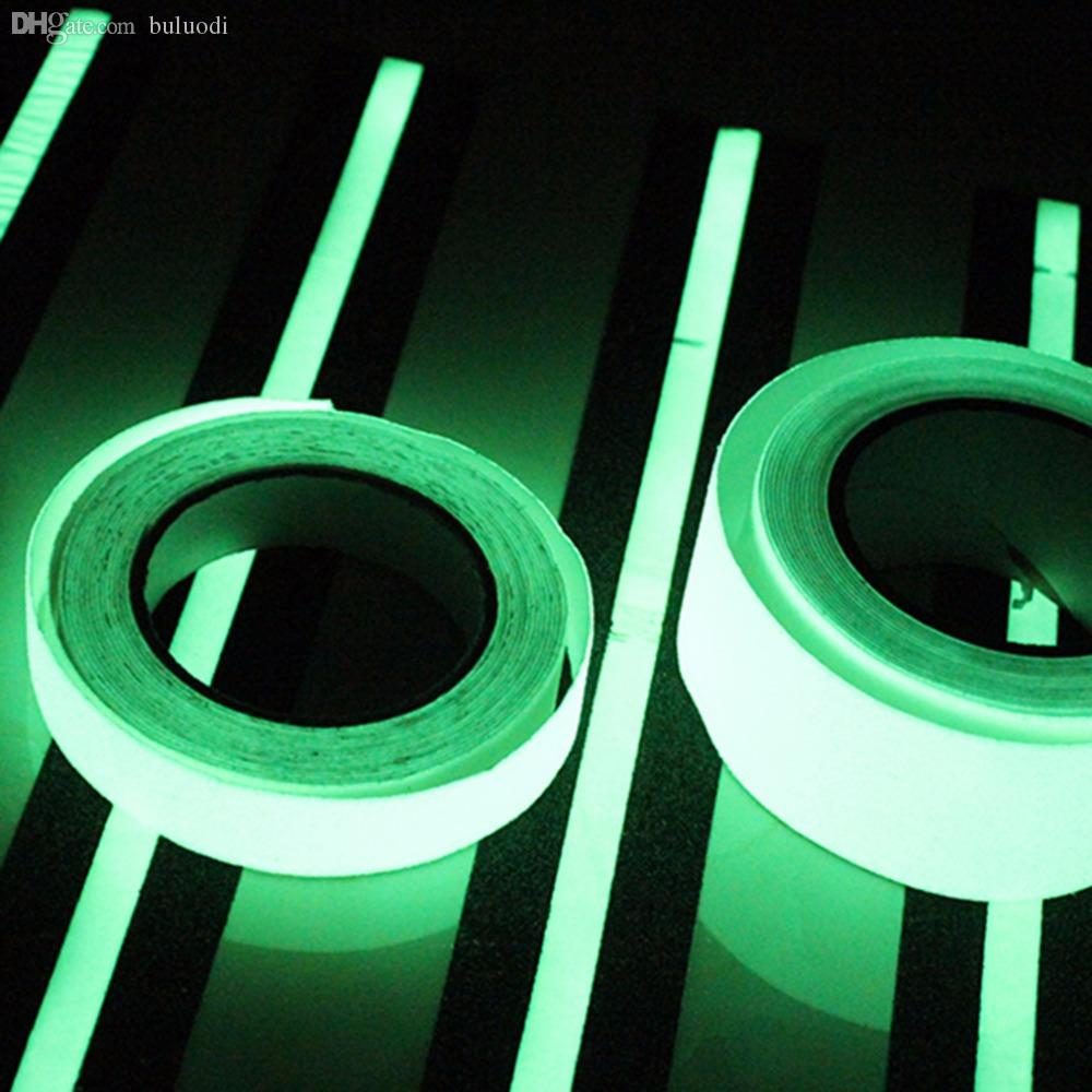 Wholesale-In Stock !3M Luminous Tape Self-adhesive Glow In The Dark Safety  Stage Home Decorations Hot