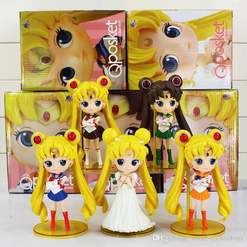 2019 Sailor Moon Q Posket Queen Jupiter Venus Pluto Action