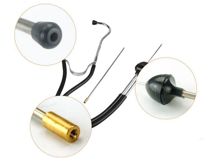 ميكانيكي السماعة محرك كتلة السماعة ل اسطوانة تصليح السيارات أداة تشخيص محرك محلل شحن مجاني