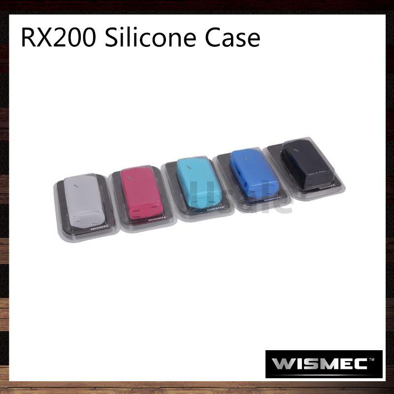 Wismec RX200 Silicone Case RX200 Battery Cover 100% Original For RX200 Mod
