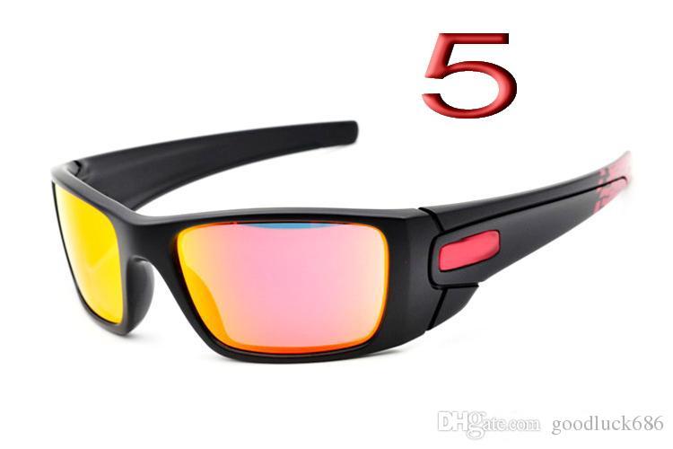 a6bdf9b13559 New Fashion Men  S Women s Black Frame Bicycle Glass Sun Glasses ...
