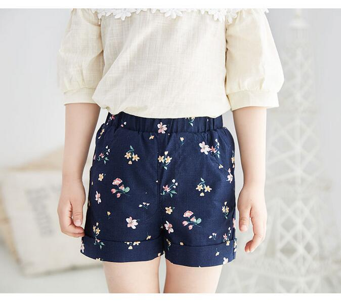Kids Clothing Hot Pants Girls Cute Printed Shorts Children Casual ...