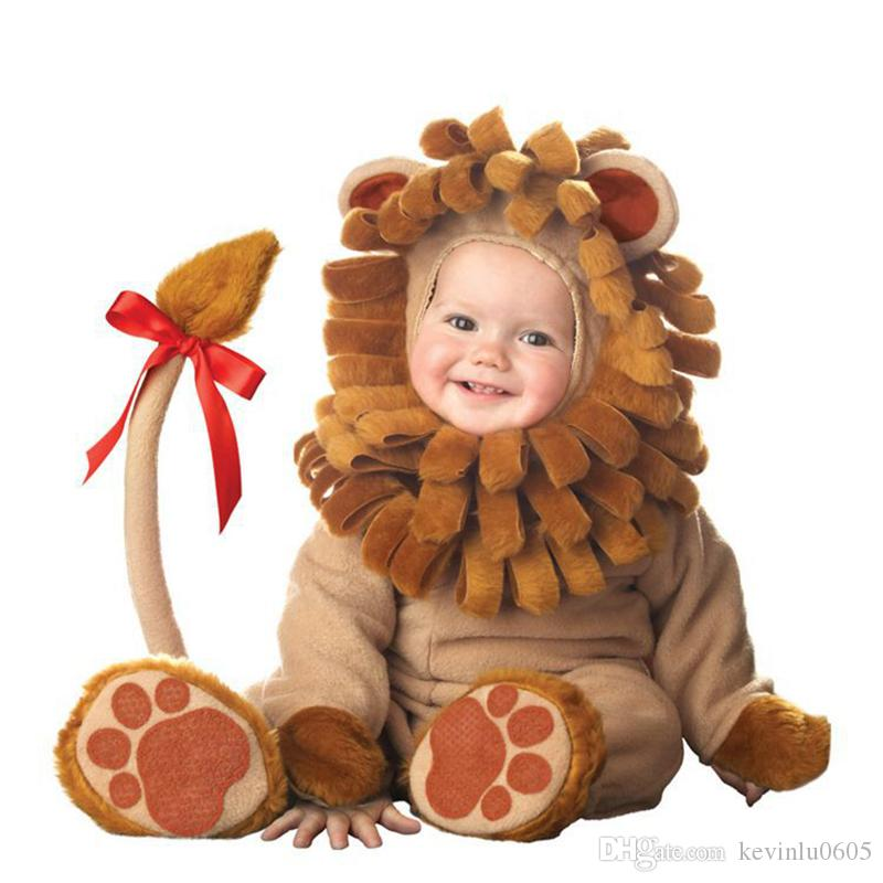 2017 Incharacter H1001 Baby Christmas Costumes Lion Costumes ...