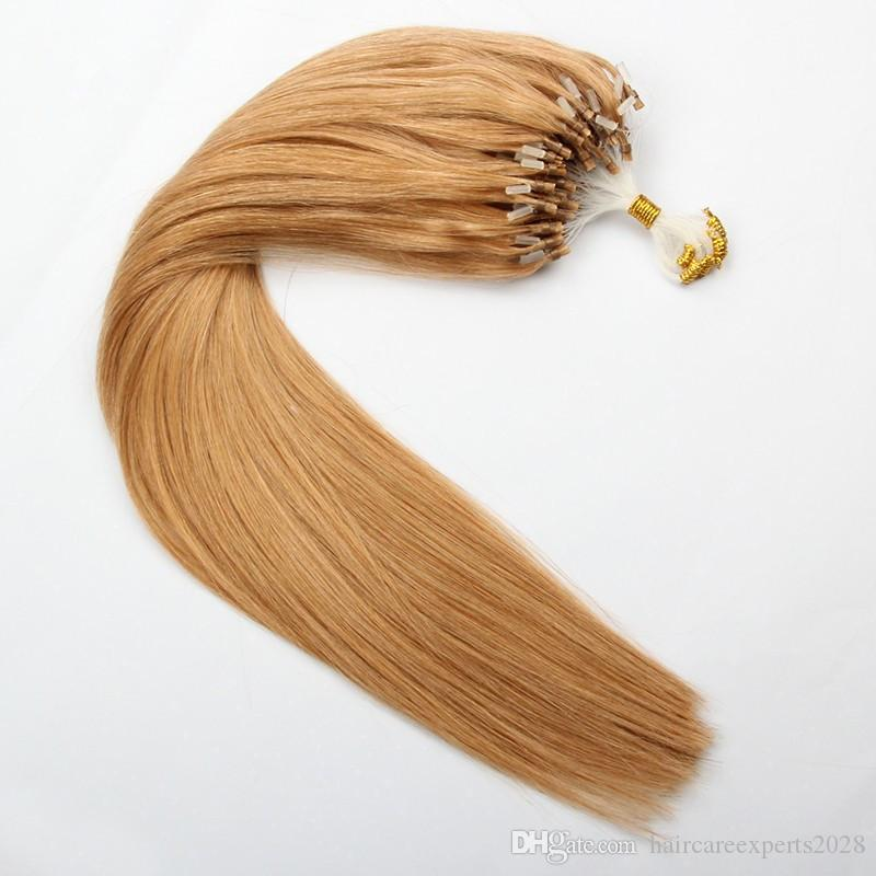 Elibess hair loop micro ring hair extension 08gs 200s color 27 elibess hair loop micro ring hair extension 08gs 200s color 27 double drawn micro ring human hair extension micro rings for hair extensions hair pmusecretfo Choice Image