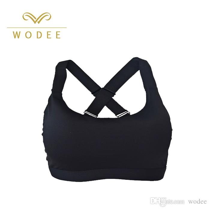 eb5f76a892165 2019 China Sportswear Manufacturer Women Sports Underwear Private Label  Quick Dry Sports Fitness Bra Supplier In China From Wodee