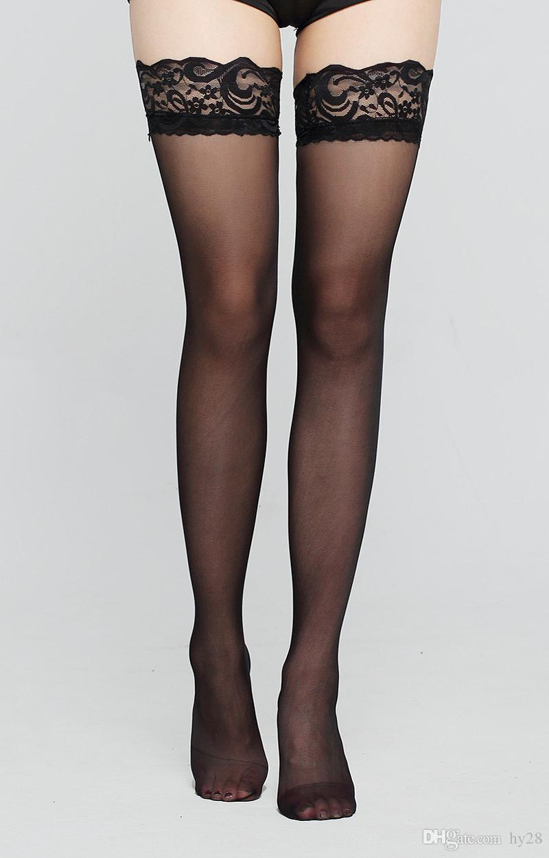 Ultrathin Sexy Stocking Lace lace temptation sexy stockings Women With silicone non-slip Stockings cute legs thigh tube stockings hot Sellin