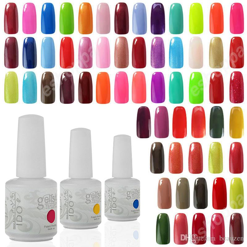 Dhl Tnt Uv Gel Polish Fashion Ido Gelish Nail Art Soak Off Nail Gel ...