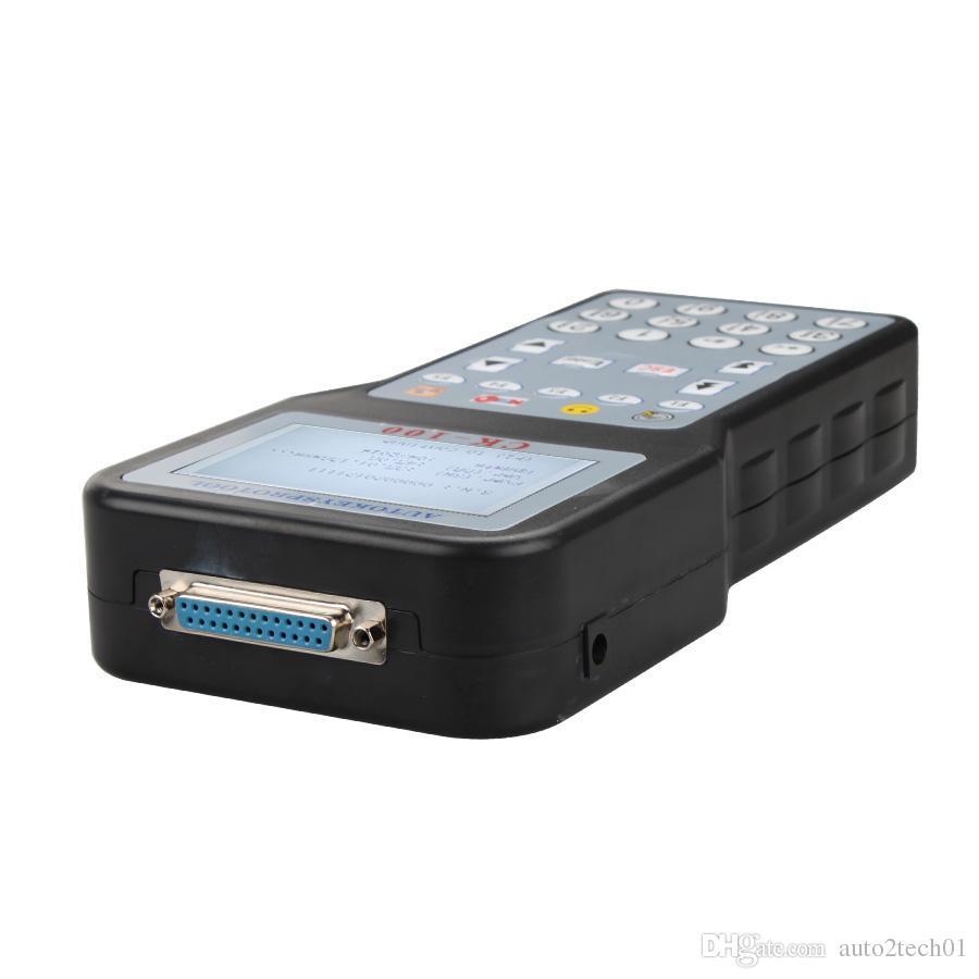 2016 V45.09 CK-100 CK100 Auto Programador Chave Suporte Até 2014.09 Multi-linguagem de Suporte Pin Code Reader Função Parte de Carros