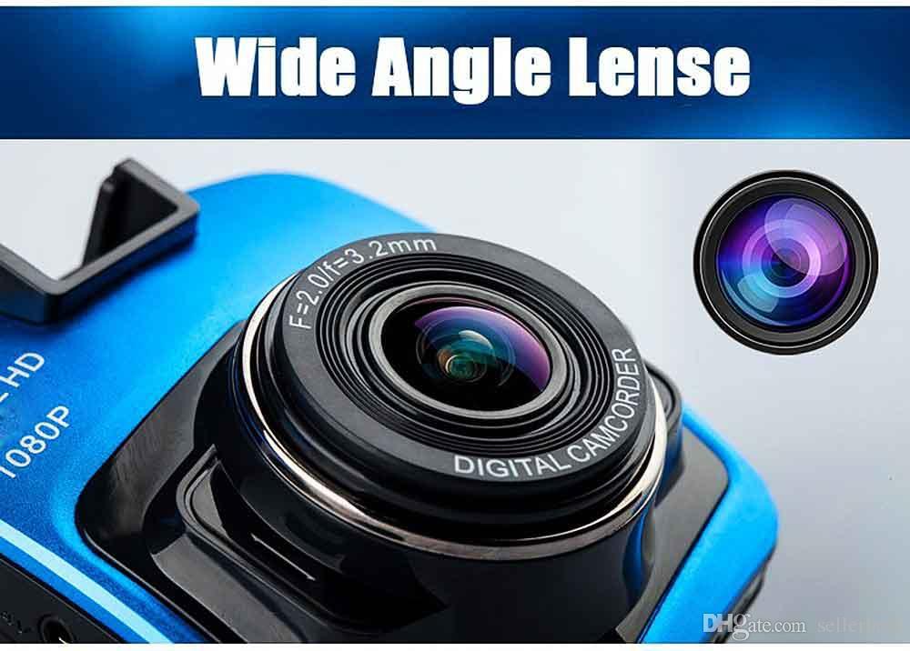 Mini Yeni Araba DVR Kamera GT300 Kamera 1080 P Full HD Video Registrator Park Kaydedici G-sensor Gece Görüş Çizgi Kam