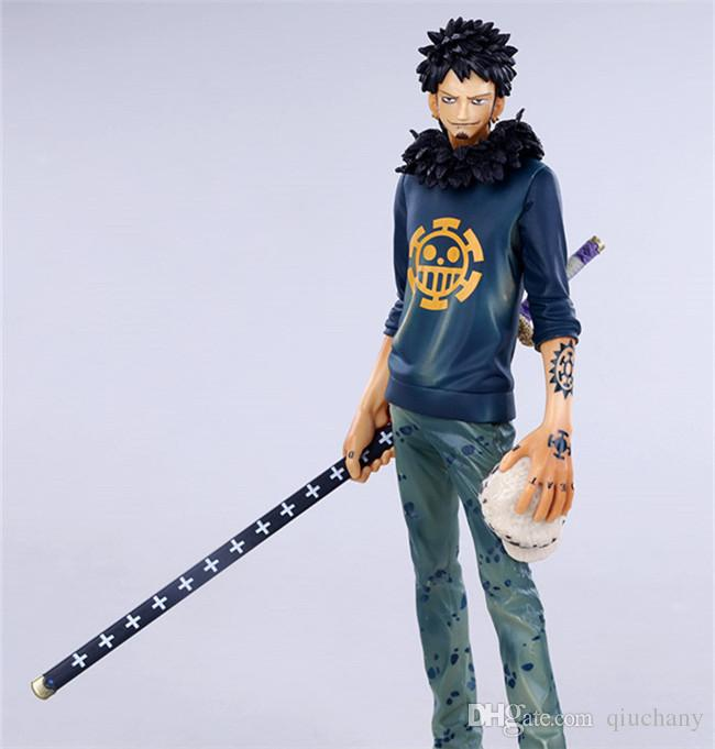 170618 QIUCHANY Anime MegaHouse Dimension Of One Piece Trafalgar Law After 2 Years PVC Action Figure