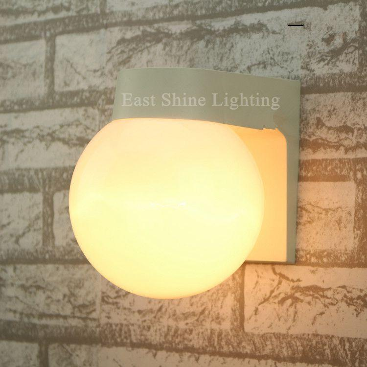 Modern Globe Ball Wall Lamps For Home Glass Outdoor Wall Lights Vintage Wall Sconce Industrial Lighting Luminaria