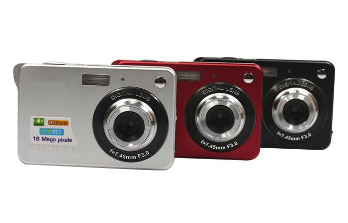 "10x HD Digital Camera 16MP 2.7"" TFT 4X Zoom Smile Capture Anti-shake Video Camcorder DC530 Alishow 4-DV"