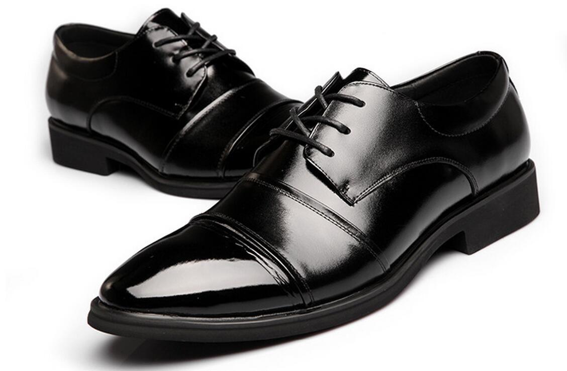 2016 Fashion Men S Wedding Shoes Mens Pointed Design