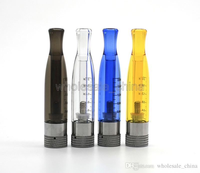 High Quality H2 Atomizer H2 Clearomizers for choosen Fit EGO-T EVOD Batteries Replaceable Atomizer 2.4 ml