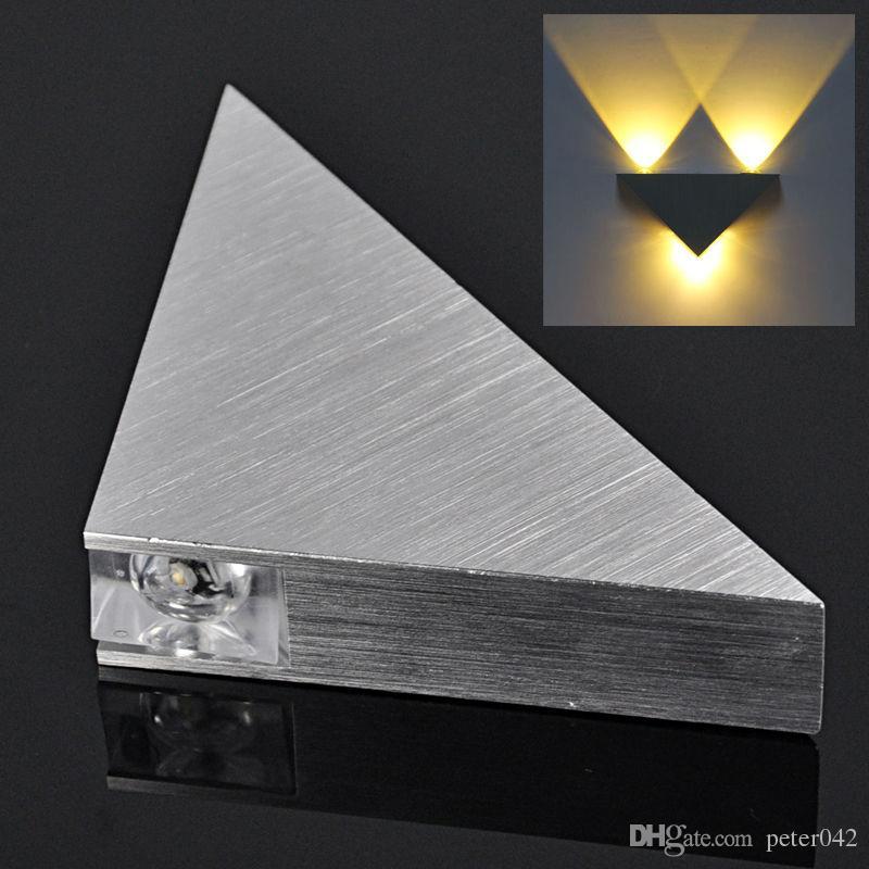 3W High Power 3 LED Up Down Wall Lamp Spot Light Modern Pathway Sconce Lighting