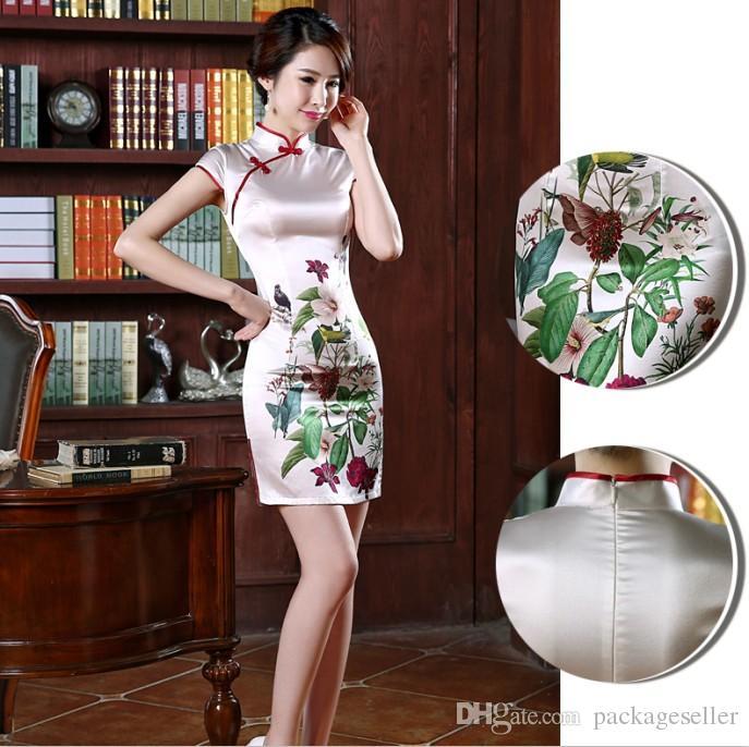 sexy chinesisches Kleid