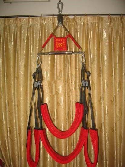 Gratis frakt Röd Sex Swing Sex Furniture Tools Toy The