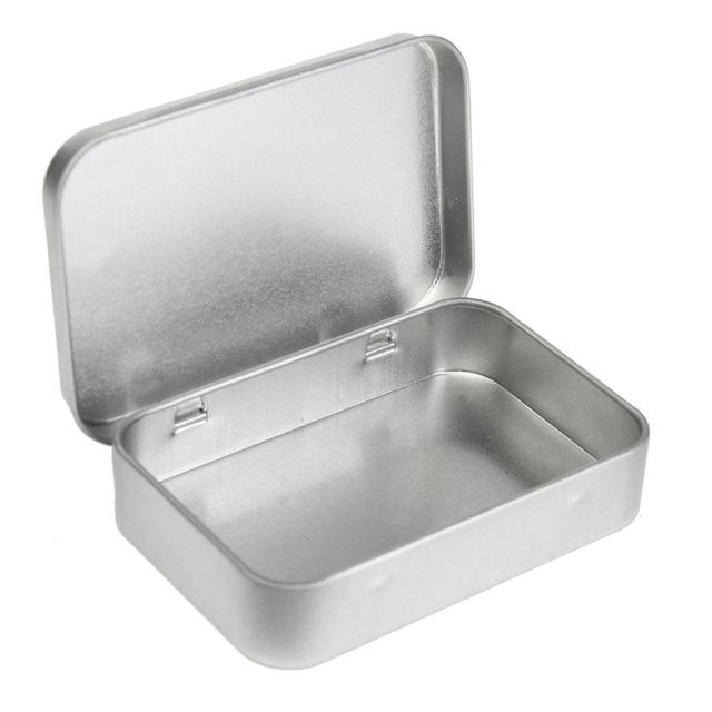 Beau Online Cheap Wholesale Survival Kit Tin Higen Lid Small Empty Silver Flip Metal  Storage Box Case Organizer For Money Coin Candy Keys H210571 By Tonghai ...
