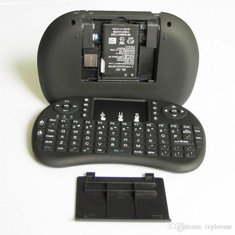 Горячие Продажи Fly air Mouse Для Google Tv Box МИНИ-ПК Сенсорный Летяга A21 2.4 Г Беспроводная QWERTY-клавиатура Wi-Fi С Smart TV A21 RII I8