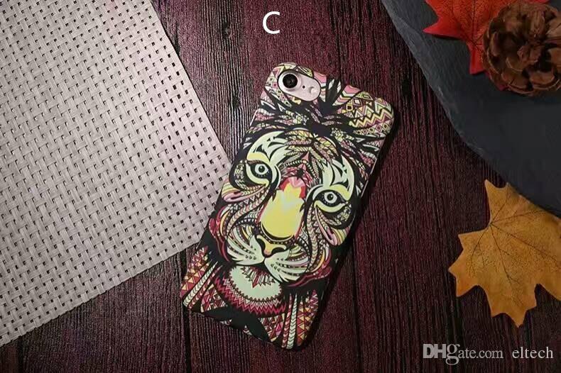 بو الجلود الهاتف القضية غطاء لفون 7 7plus الكرتون الأصل فليب غطاء فتحة بطاقة