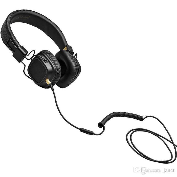 Großhandelsmarshall-Hauptkopfhörer mit tiefem Bass-DJ-Hifi-Kopfhörer-Hifi-Kopfhörer-Fachmann DJ überwachen Kopfhörer