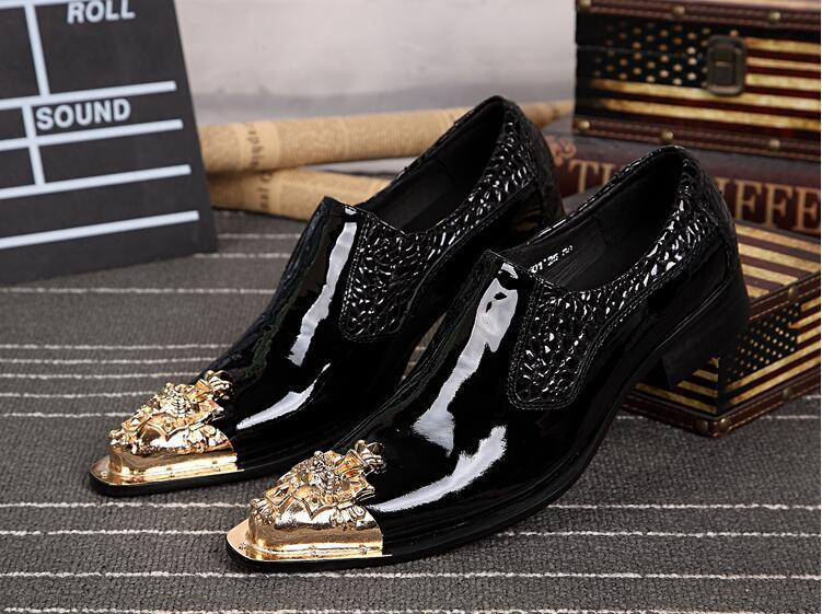 f07dc5b338c Formal Men Dress Shoes Buckle Leather Snake Skin Famous Italian Designer  Business 38-46 Apartments with Shoes with Large Size Men Dress Shoes Online  with ...