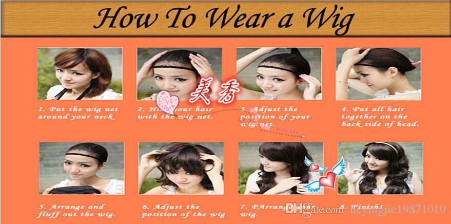 Xiu Zhi Mei Hot vender New Fashion Mix Cor Médio Em Linha Reta Bob Penteado Perucas de Cabelo Sintético Para As Mulheres Com Franja Cheia