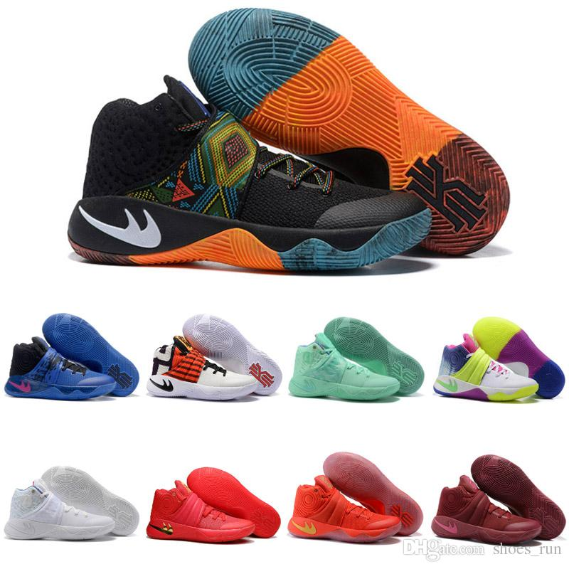 Kyrie Irving 2 Men Basketball Shoes Kyrie 2s Id Xdr Sports Shoes Mens  Trainers Training Sneaker Black Red White Send With Shoe Box Barkley Shoes  Shoes ...