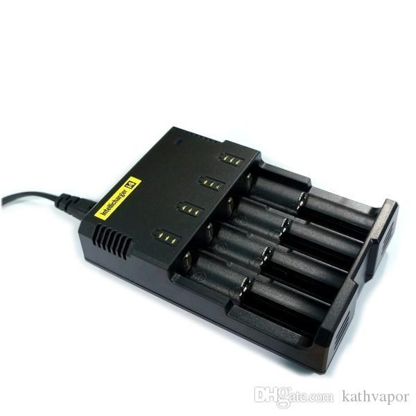 Оригинальные фонарь NITECORE i4 Универсальное зарядное устройство электронной сигареты электронные cigaretters зарядное устройство для 18650 18500 26650 И2 Д2 Д4 DHL бесплатно