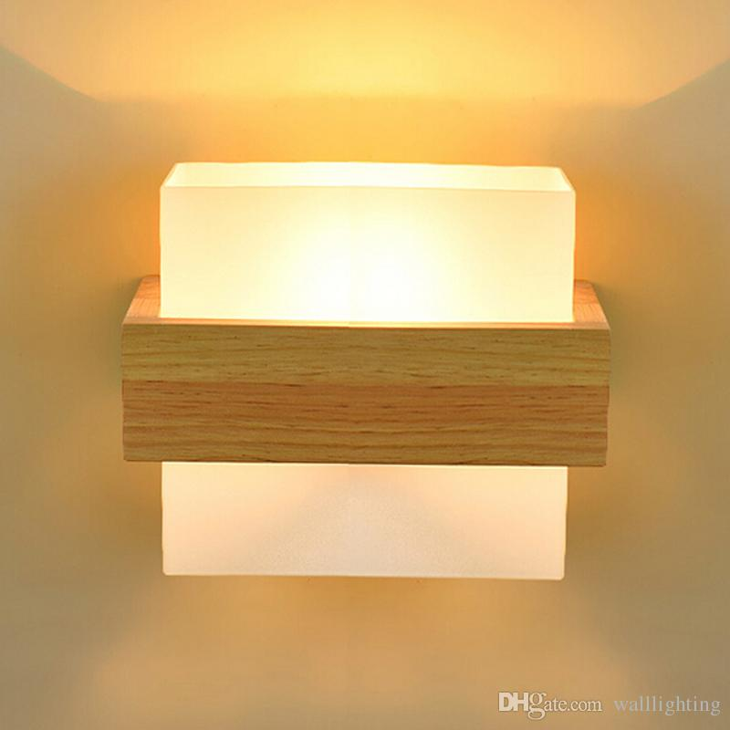 2018 Modern Aplik Wood Led Wall Light Lamps For Home Lighting,Wall Sconce  Arandela Lamparas De Pared From Walllighting, $65.33   Dhgate.Com