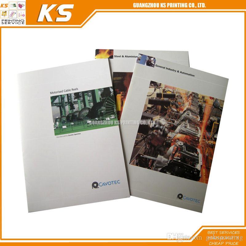2017 Custom Coloring Book Brochure Printing Service A5 Booklet