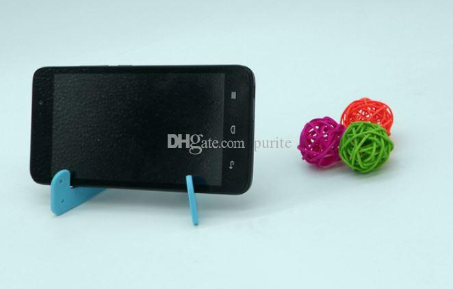 Em forma de V Universal Dobrável Móvel Celular Stand Titular Portátil Tablet PC Dobrável Pad Telefone Móvel Mãos Livres Suporte Titular