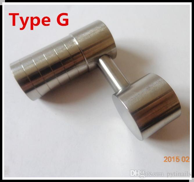 Melhor preço de atacado GR2 Domeless Side Arm Titanium prego E-prego Dab Cap Carb de venda