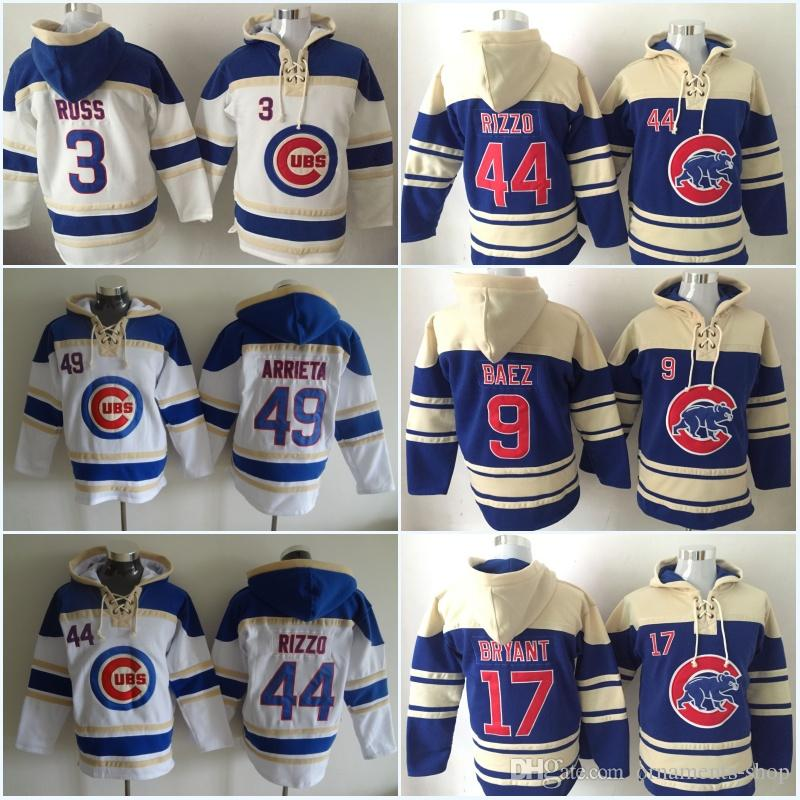 Mens Chicago Cubs Hockey Jersey 44 Anthony Rizzo 9 Javier Baez 12 Kyle  Schwarber 17 Kris Bryant Hoodies Jerseys Sweatshirts UK 2019 From Ornaments  Shop 2a21afd9358