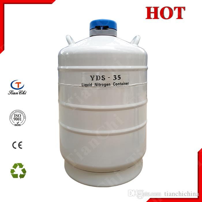 2018 Cryogenic Liquid Tank 35l Storage Container Dewar Flask