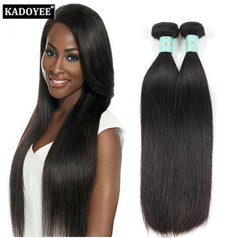 Malaysian Hair Straight Hair Extension Wet And Wavy Hair Bundles