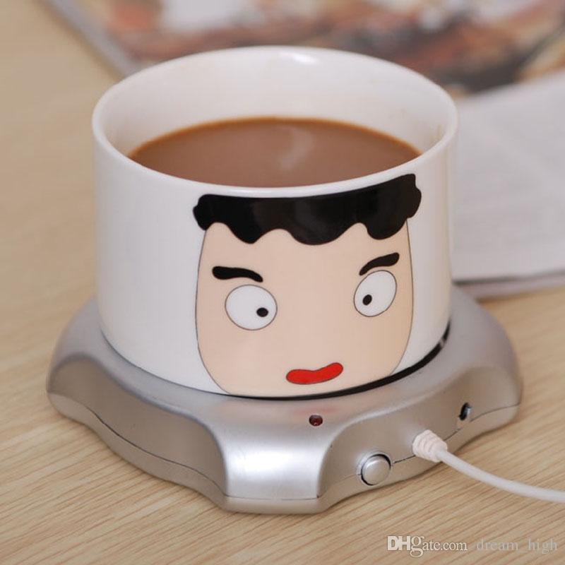 Kaffeetasse-Wärmer Fabrikpreis Büro Haus-Gebrauch USB Powered Tee-Kaffee-Milch-Schalen-Wärmer-Heizung AUFLAGE