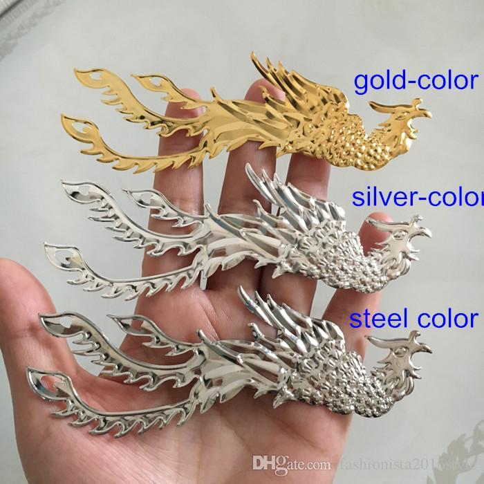 Metal Stamping Crafted Phoenix Bird 118*36mm Embellishments For Jewelry & Scrapbook,DIY Supplies